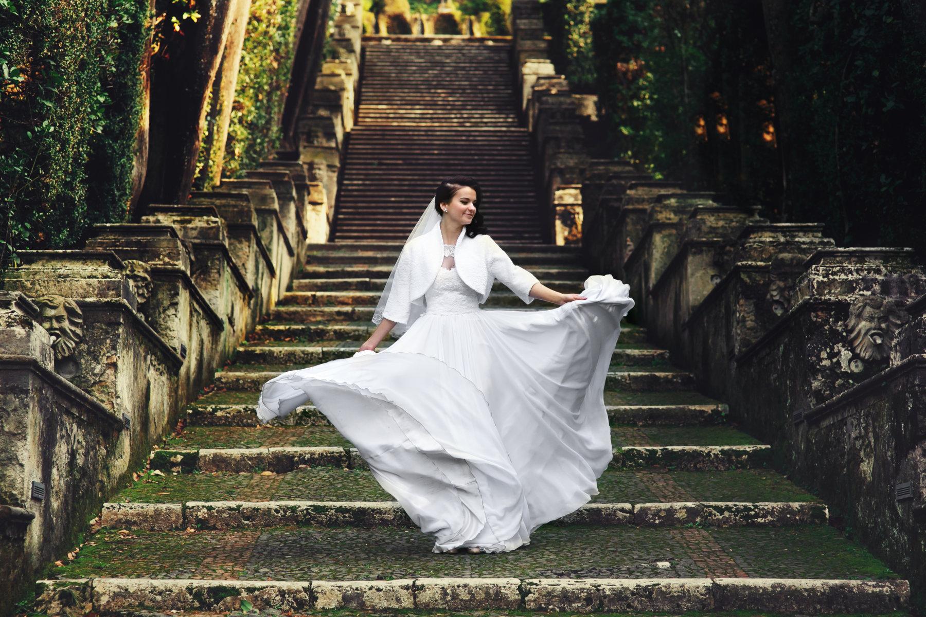 Официальная свадьба в Тиволи